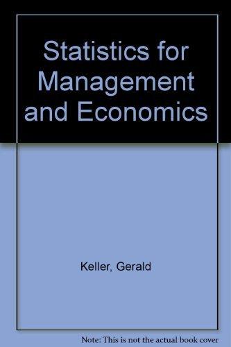 Statistics for Management and Economics: Gerald Keller, Brian