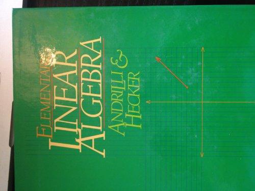 9780534179649: Elementary Linear Algebra