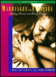 Marriages and Families: Making Choices and Facing: Mary Ann Lamanna,