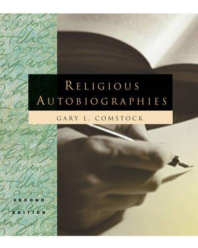 9780534187804: Religious Autobiographies