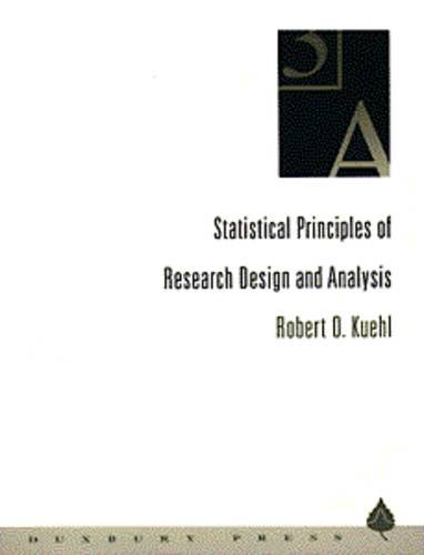 9780534188047: Statistical Principles of Research Design and Analysis