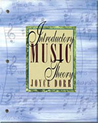 9780534188580: Introductory Music Theory