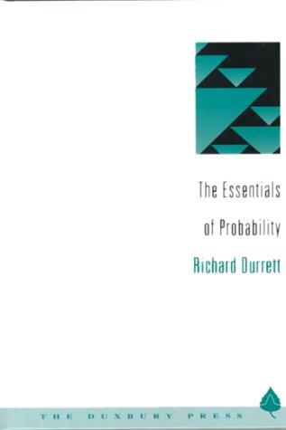 9780534192303: The Essentials of Probability (Statistics)