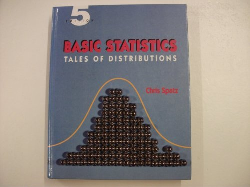 9780534192549: Basic Statistics: Tales of Distributions