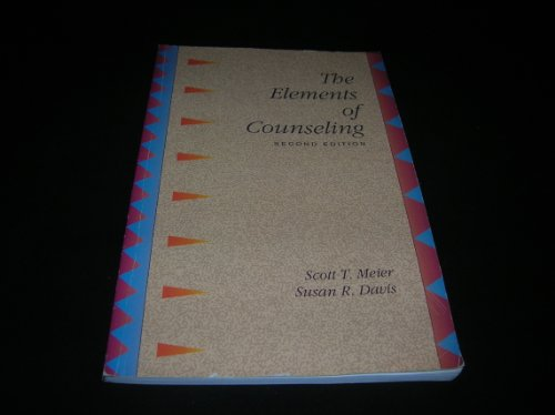 9780534194284: The Elements of Counseling