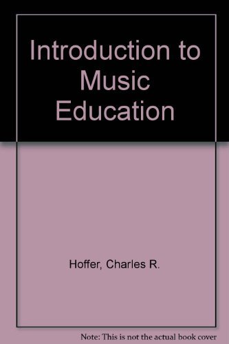 9780534194529: Introduction to Music Education