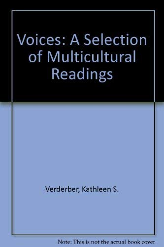 9780534195632: Voices: A Selection of Multicultural Readings