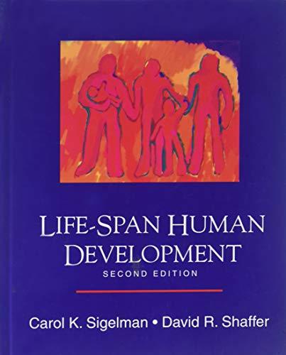9780534195786: Life-Span Human Development