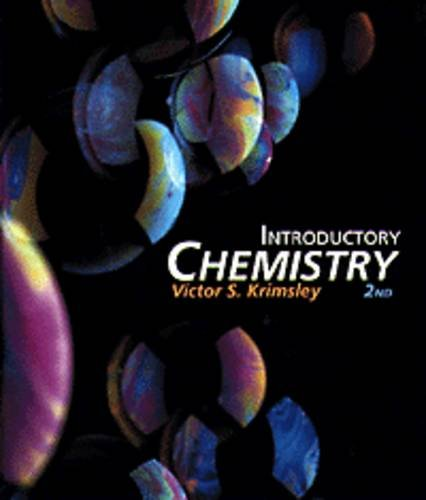 9780534196325: Introductory Chemistry