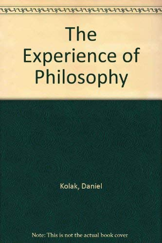 9780534197162: The Experience of Philosophy