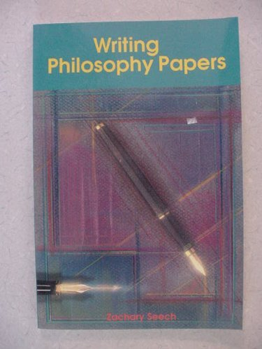 9780534197582: Writing Philosophy Papers