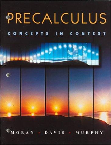 9780534197896: Precalculus: Concepts in Context