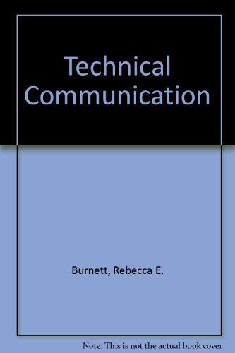 9780534199326: Technical Communication