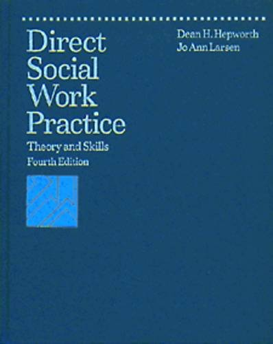 9780534199562: Direct Social Work Practice: Theory and Skills