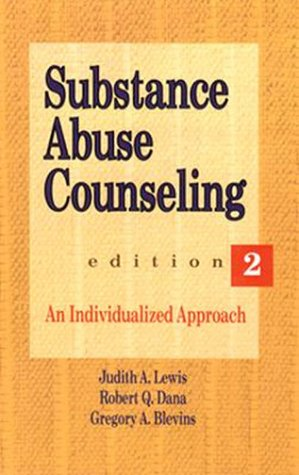 9780534200534: Substance Abuse Counseling: An Individualized Approach