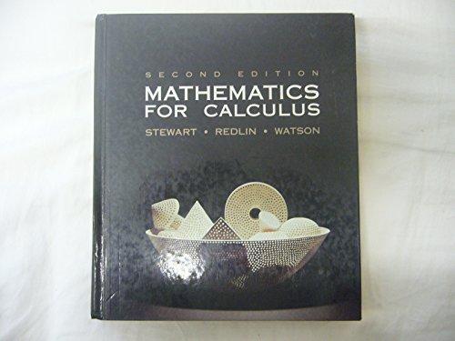 Mathematics for Calculus: James Stewart, Lothar