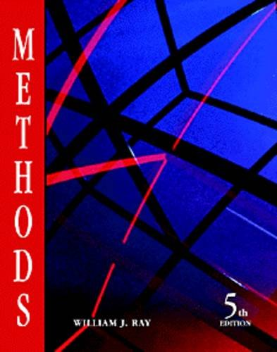 9780534203467: Methods Toward a Science of Behavior and Experience
