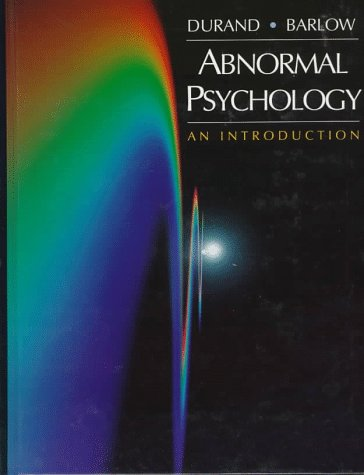Abnormal Psychology: An Introduction: V. Mark Durand,