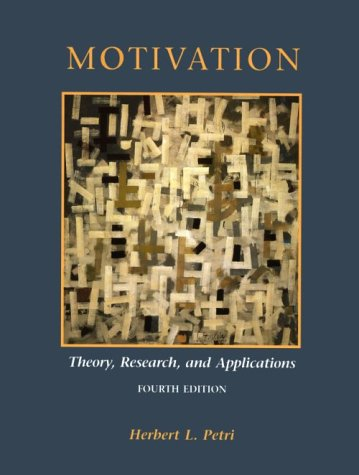 9780534204600: Motivation: Theory, Research, and Applications (Psychology)