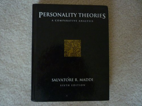 9780534205140: Personality Theories: A Comparative Analysis (Psychology)