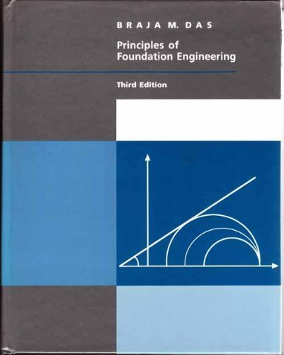 9780534206468: Principles of Foundation Engineering, 3rd (The Pws Series in Engineering)