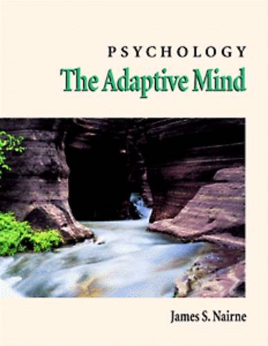 9780534206826: Psychology: The Adaptive Mind