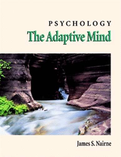 9780534206826: Psychology: The Adaptive Mind