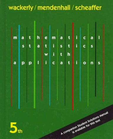 9780534209162: Mathematical Statistics with Applications