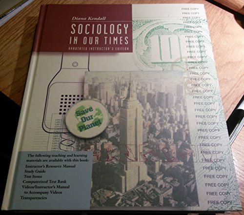 9780534210243: Sociology In Our Times