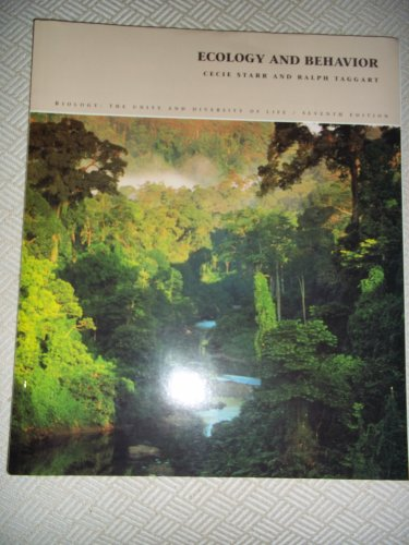 9780534210663: Ecology and Behavior