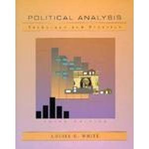 9780534211868: Political Analysis: Technique and Practice (Political Science)