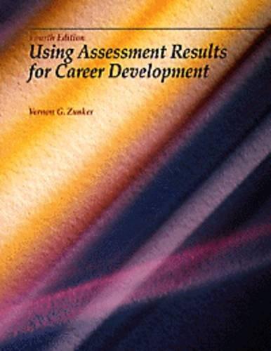 9780534212049: Using Assessmenet Results for Career Development