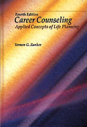 9780534212056: Career Counseling: Applied Concepts of Life Planning