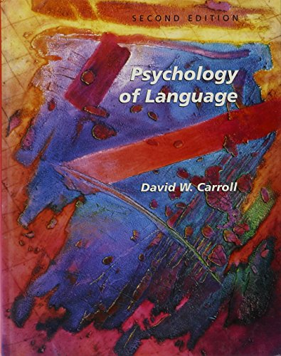 9780534213008: Psychology of Language