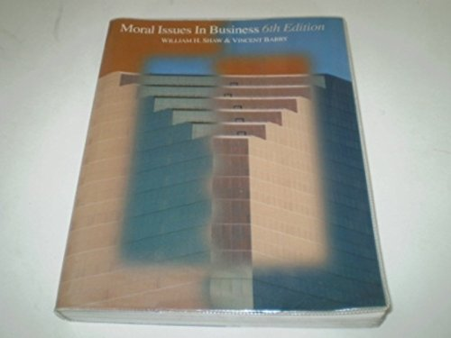 9780534217020: Moral Issues in Business