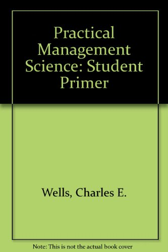 9780534217761: A Student Primer to accompany Practical Management Science:: Understanding and Developing Spreadsheet Models