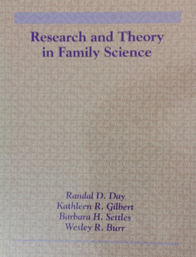9780534217808: Research and Theory in Family Science