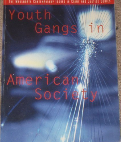 9780534221348: Youth Gangs in American Society (A volume in the Wadsworth Contemporary Issues in Crime and Justice Series)