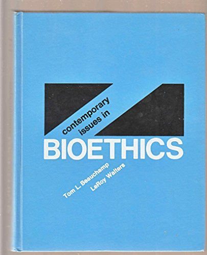 9780534223144: Contemporary Issues in Bioethics