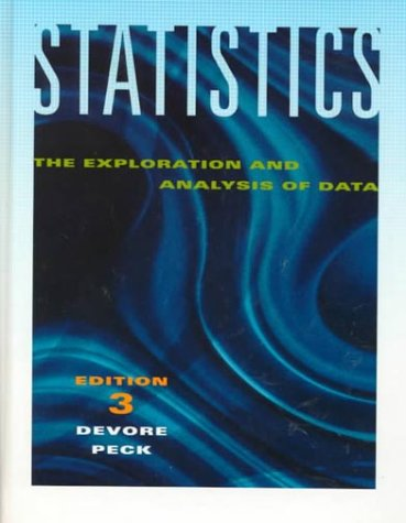 9780534228965: Statistics: The Exploration and Analysis of Data