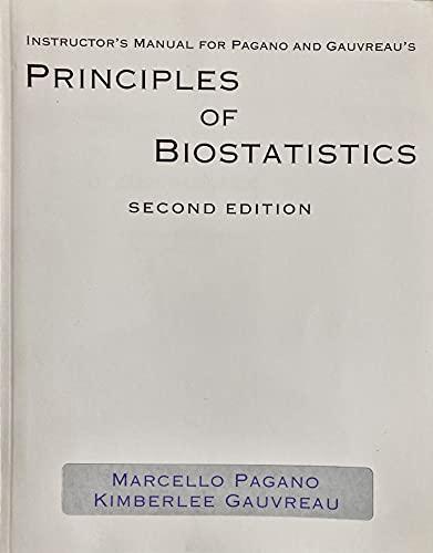 9780534229030: Prin Biostatistics Im