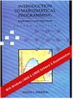 9780534230470: Introduction to Mathematical Programming: Applications and Algorithms