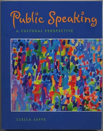 9780534230647: Public Speaking: A Cultural Perspective (Speech & Theater)