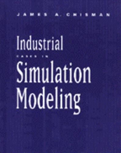 9780534237189: Industrial Cases in Simulation Modeling