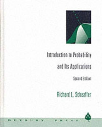 Introduction to Probability and Its Applications (Statistics): Richard L.(Richard L.