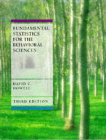 9780534239763: Fundamental Statistics for the Behavioral Sciences (Business Statistics)