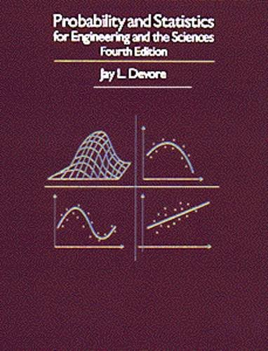 9780534242640: Probability and Statistics for Engineering and the Sciences