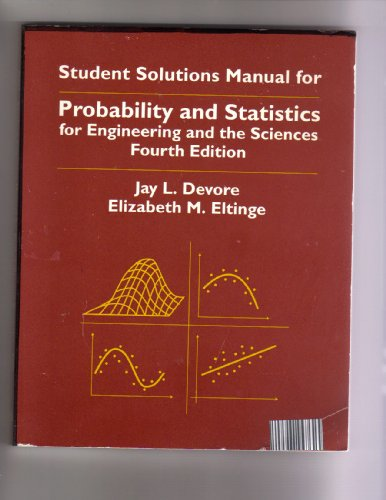 9780534242657: Probability and Statistics for Engineering and the Sciences