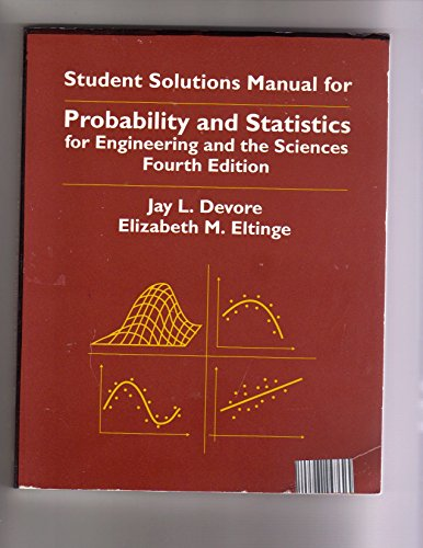 Probability and Statistics for Engineering and the: Devore, Jay L.