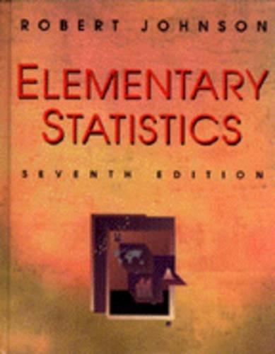 9780534243241: Elementary Statistics